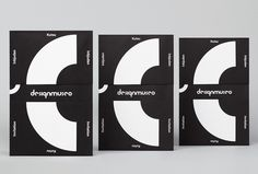 Design Museum by Bond #graphic design #print #black