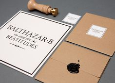 balthazar #branding #design #graphic #identity #stationery