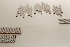 tokujin yoshioka: phenomenon collection for mutina - milan design week 2012 #tiles