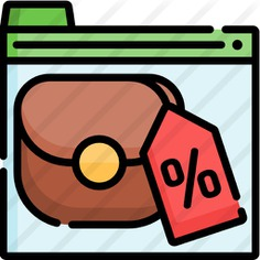 See more icon inspiration related to seo and web, commerce and shopping, payment method, online shopping, payment, sale, discount and interface on Flaticon.