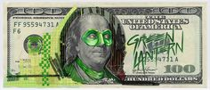 Justice League Of America on Behance #paint #money #superhero