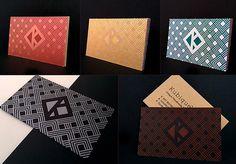 Kubique™ on Behance #silkscreen #geometry #print #patterns #cards