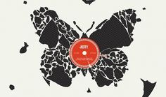 In The City | Young #record #butterfly #illustration