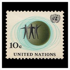 United Nations Postage Stamps – Part 4 #stamp