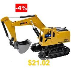 2.4G #Alloy #Wireless #Remote #Control #Excavator #- #SAFFRON