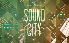 Sound City Desktop #background #typography