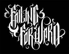 All sizes | New Failing Forward Logo | Flickr - Photo Sharing! #type #warburton #hylton