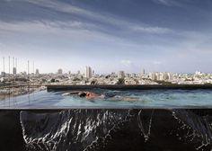 Tel Aviv penthouse by Pitsou Kedem/ www.homeworlddesign.com #penthouse