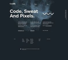 www.grafik.co.nz #website #grid #layout #websites