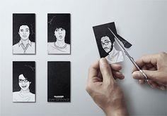 Glammer business cards - CardFaves