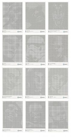 STAR GRID POSTERS '10/11 on the Behance Network #design #graphic #posters