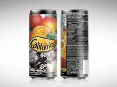 california_nectar04.jpg 640×480 pixels #packaging #fruits #black #natural #juice #pack #can