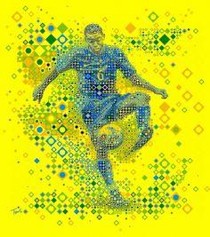 Marcelo: Brazil 2010 | Flickr - Photo Sharing! #geometry #brasil #futbol