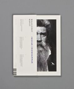 Magasinet Kunst on Behance #cover #layout #editorial #magazine #typography