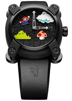 RJ X Super Mario Bros. Timepiece #RJRomainJerome #SuperMario #supermario