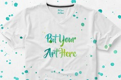 T-shirt with paint mock up Premium Psd. See more inspiration related to Mockup, Hand, Template, Paint, Hand drawn, Art, Web, 3d, Website, Mock up, Dots, Tshirt, Dot, Psd, Templates, Website template, Mockups, T-shirt, Up, Drawn, Tshirt templates, Web template, Stains, Realistic, Wear, Real, Painted, Web templates, Mock ups, Mock, 3d mockup, Psd mockup, Ups and Wearing on Freepik.