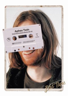 Aphex Twin, Selected Ambient Works 85-92 Bad Tapes Series by Attico36. #graphic #design #typography #photography #helvetica #poster #aphextw