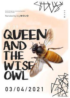 #poster #design #graphic #design #bee #white #typography