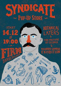 SNDCT pop up store #sndct #orka #illustration #original #syndicate #poster #abo