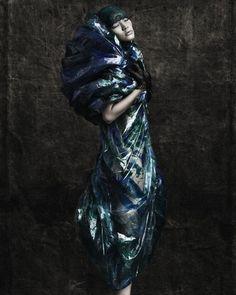 Plastic Zeitgiest to Asian dhoti #fashion #design