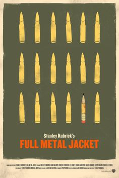 Full Metal Jacket Poster on Behance #poster #film