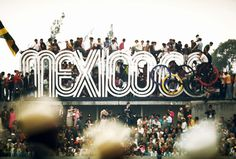 Mexico '68 #mexico #olympics #photography #1968