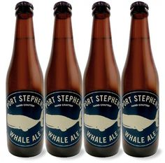 Port Stephens Whale Ale #packaging #beer #ale #bottle