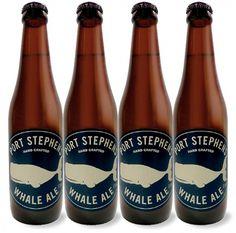 Port Stephens Whale Ale #packaging #beer #ale #bottle