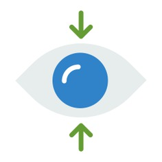 See more icon inspiration related to eye, focus, multimedia option and interface on Flaticon.