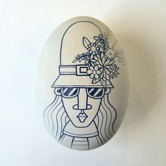 Easter bonnet. Illustration by Allan Deas www.allandeas.com
