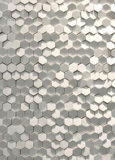 Phenomenon: Tokujin Yoshioka's Tile System for Mutina - Core77 #tiles wall