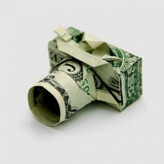 Dollar Origami by Won Park #dollar #origami #won #park