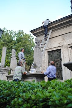 Wall-B World Wild • Istanbul, September 2014 #old #walby #istanbul #cemetery #photography #men #david #tombs #wall-b