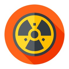 See more icon inspiration related to nuclear energy, shapes and symbols, ecology and environment, signaling, radiation, alert, industry, radioactive, energy, signs and power on Flaticon.