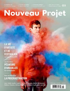Nouveau Projet (Montréal, QC, Canada) #print #graphic design #photography #magazine #editorial design #magazine cover