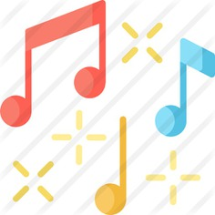 See more icon inspiration related to music, music and multimedia, music player, musical notes, quaver, musical note and musical on Flaticon.