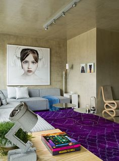 Classy Loft Design with Modern Appeal Inspired by the Owner's Acting Career