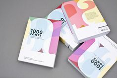 1000 Fonts Working Format #print #typography #photography #working format