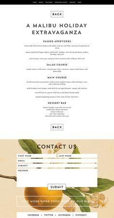 Whoa Nelly Catering Branding & Website on Behance