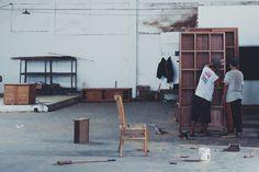 #indonesia #explore #travel #wood #furniture #cement #workshop #warehouse #workspace #handmade
