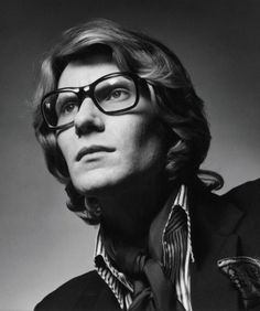 Photography(Yves Saint Laurent, via musiquegraphique) #yves #portrait #saint #fashion #laurent