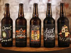 Beer, Label, Packaging, Script, Lettering, Brewing, Indiana, Indianapolis, Art, Illustration, Branding, Logo, Design