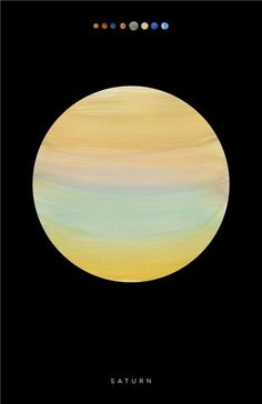 lindsey #poster #paint #texture #saturn #planet #outer space