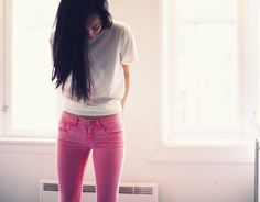 Vanillascented - FRESHNET.se #girl #photography #pink #jeans #vanillascented