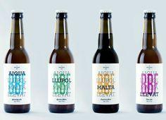 Barcelona Beer Festival #packaging #beer #label #bottle