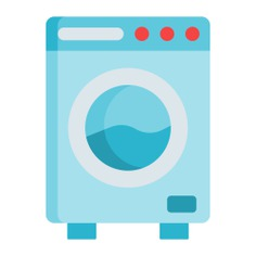 See more icon inspiration related to furniture and household, household, electrical appliance, housekeeping, washing machine, electronics, laundry and fashion on Flaticon.