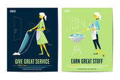 campaign posters #illustration