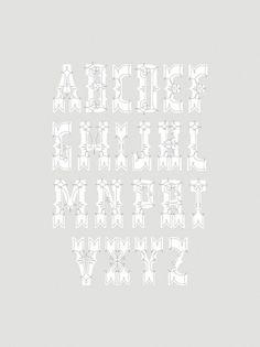 11_alphabet_1_850.jpg (850×1133) #nelma #serif #fancy #typeface #type #typography