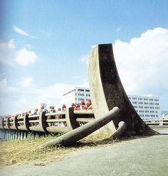 01 Magazine - BLOG #japan #concret #stone #bridge #noguchi