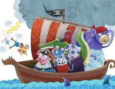 Bellebrute Threeinabox.com #threeinaboxcom #illustration #bellebrute #kids #kidsbook